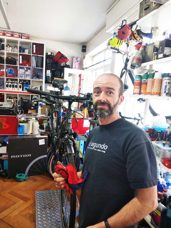 Michel Carmona Velomechaniker GoodFeeling Sports Int.